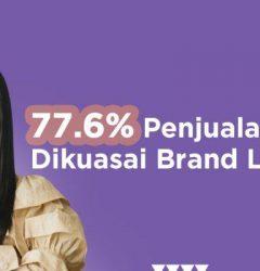 penjualan lipstik dikuasai brand lokal