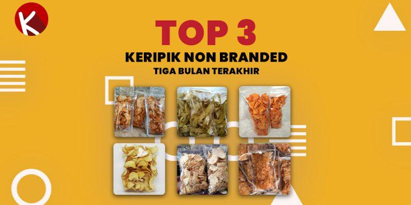 top 3 keripik non branded