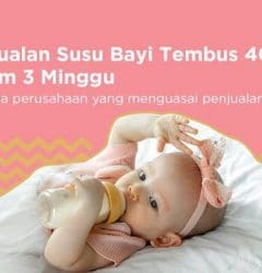 penjualan susu bayi