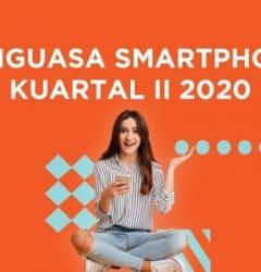 penjualan smartphone Q2 2020