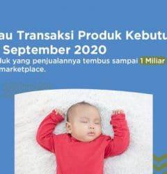 transaksi produk kebutuhan bayi