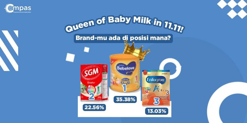 penjualan susu bayi terbaik