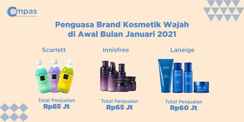 brand lokal menguasai pasar kosmetik